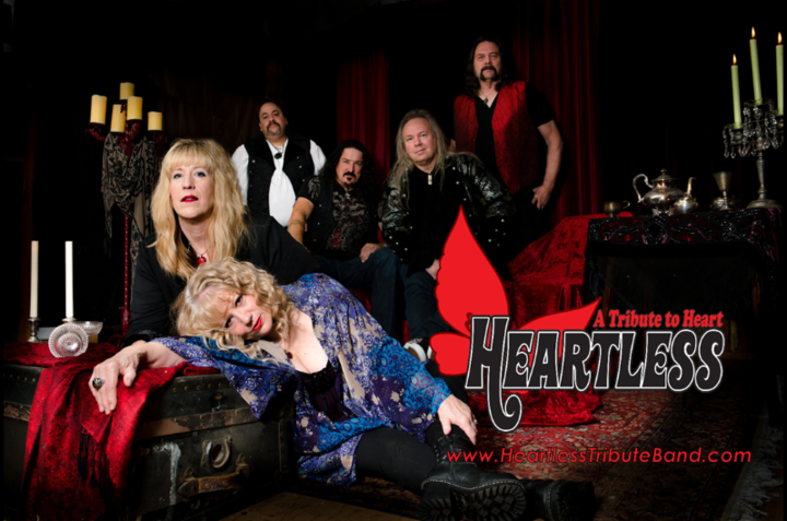 Heartless - A Tribute to the Rock Band Heart @ Black Oak Casino - Tuolumne City, CA