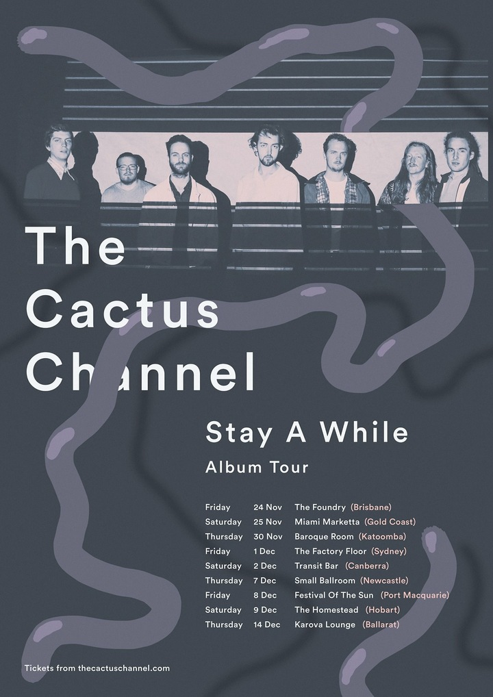 The Cactus Channel @ The Foundry - Fortitude Valley, Australia