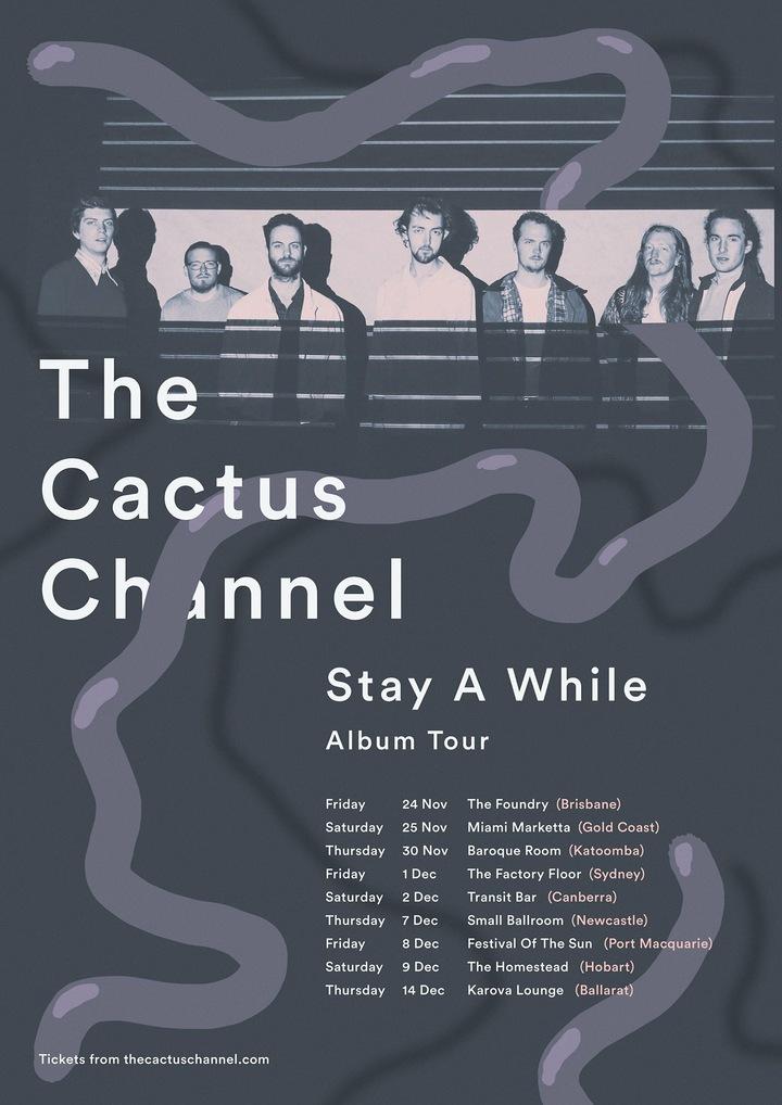 The Cactus Channel @ SMALL BALLROOM - Newcastle, Australia