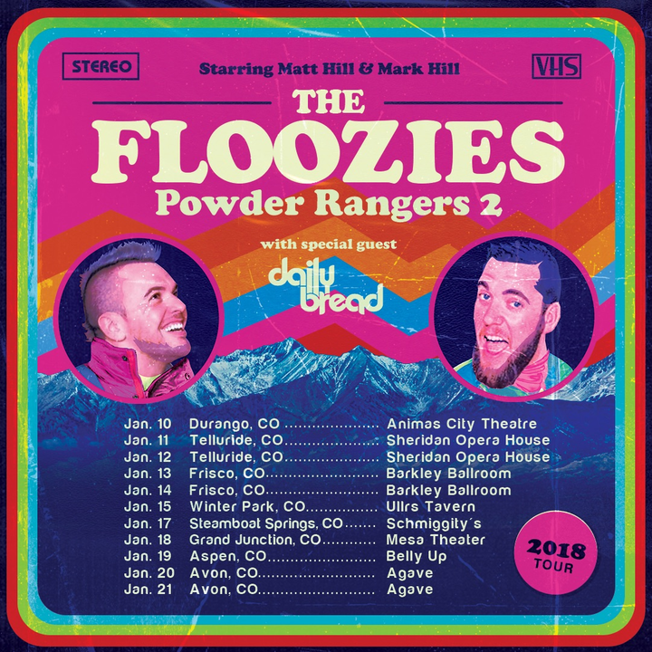 The Floozies @ Mesa Theater - Grand Junction, CO