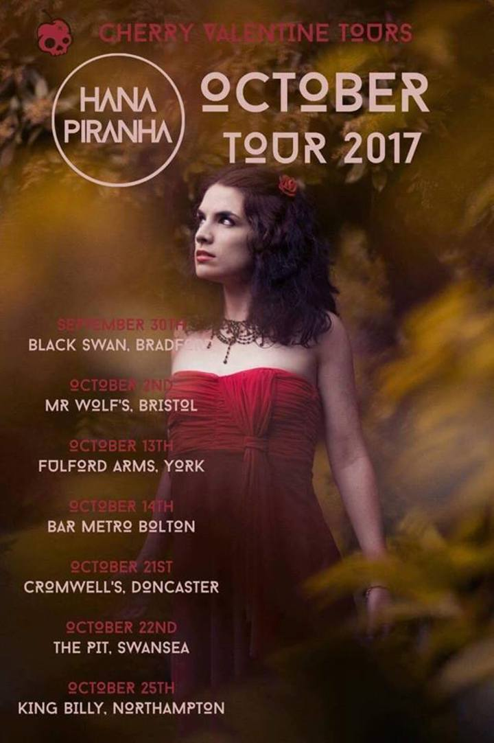 Cherry Valentine Tours Tour Dates