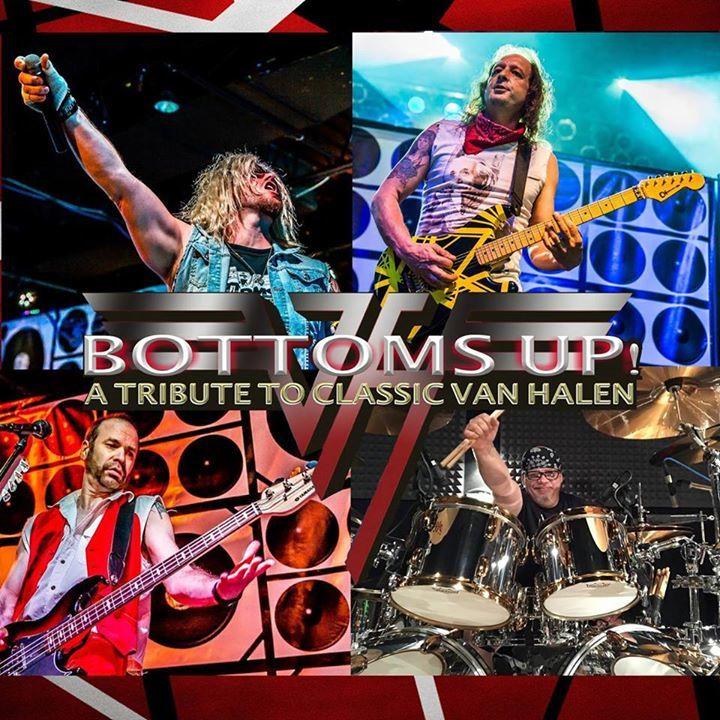 Bottoms Up Tribute to Classic Van Halen Tour Dates