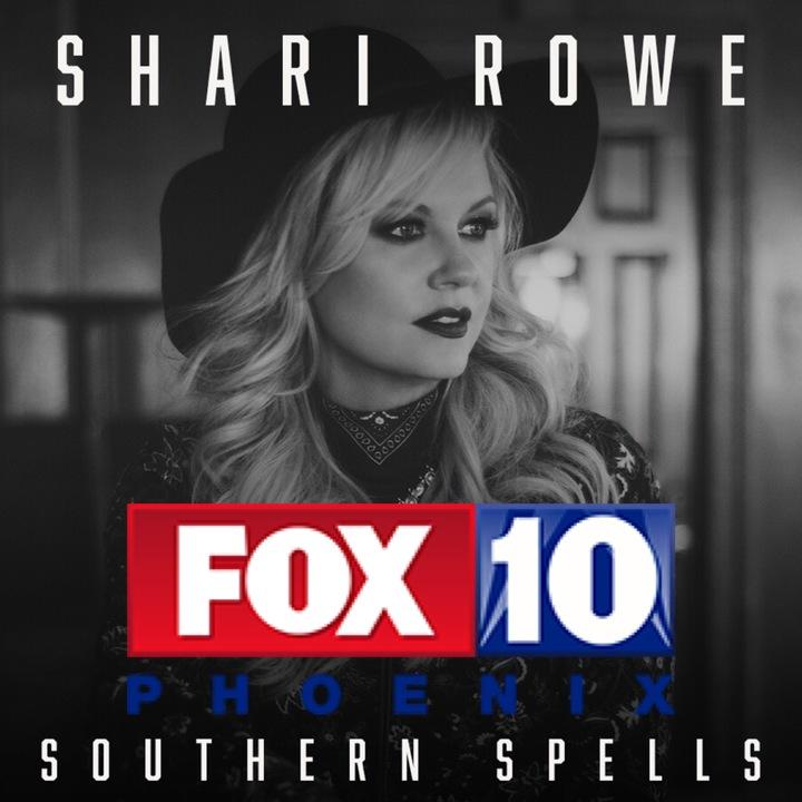 Shari Rowe @ Fox 10 Morning TV - Phoenix, AZ
