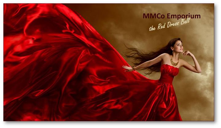 Chloey Rose @ MMCO Emporium - The Red Dress Ball - London, United Kingdom