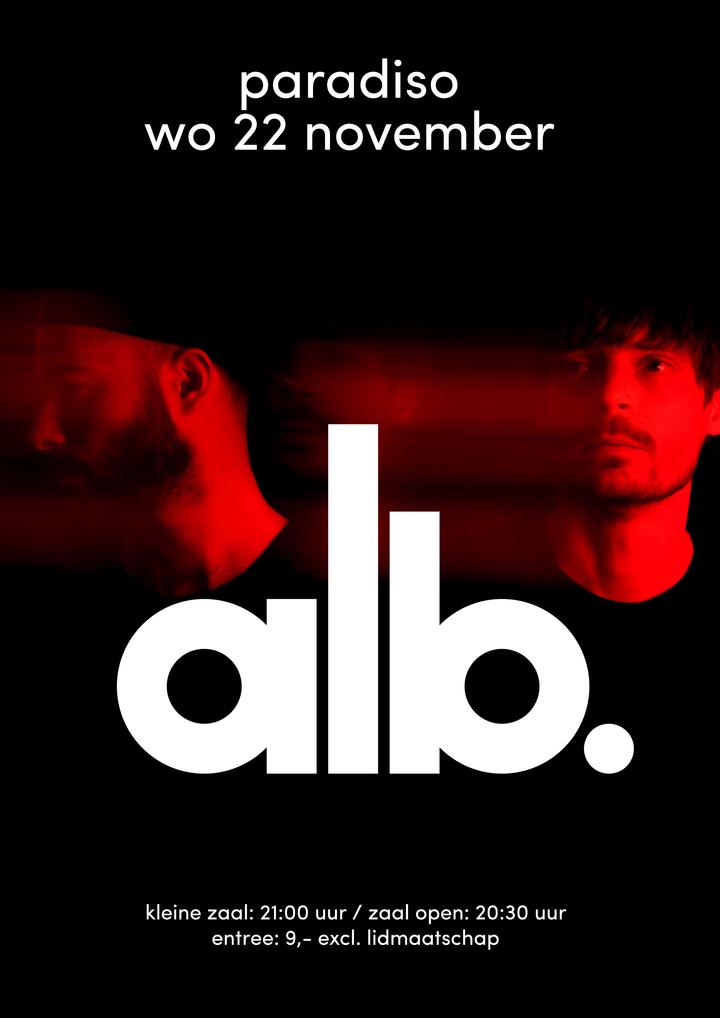 ALB @ Paradiso - Amsterdam, Netherlands