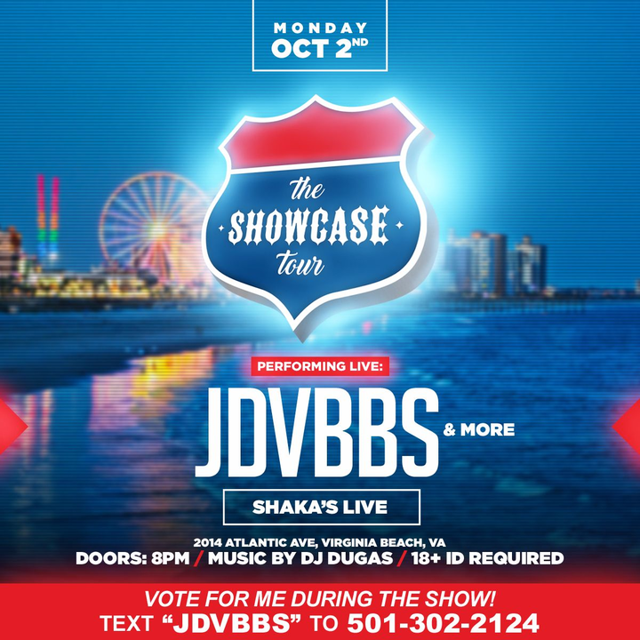 JDVBBS @ The Showcase Tour @ Shaka's Live - Virginia Beach, VA