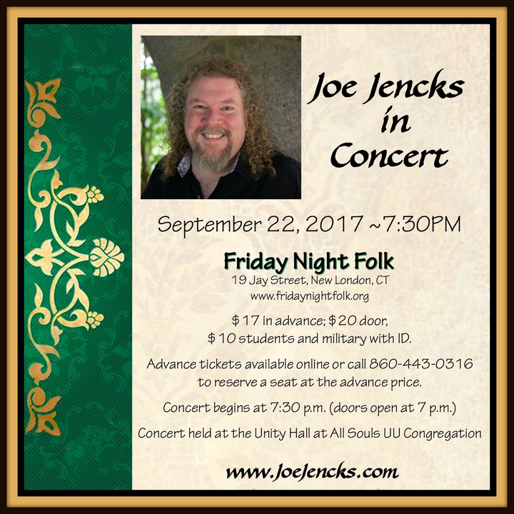 Joe Jencks @ Friday Night Folk - New London, CT