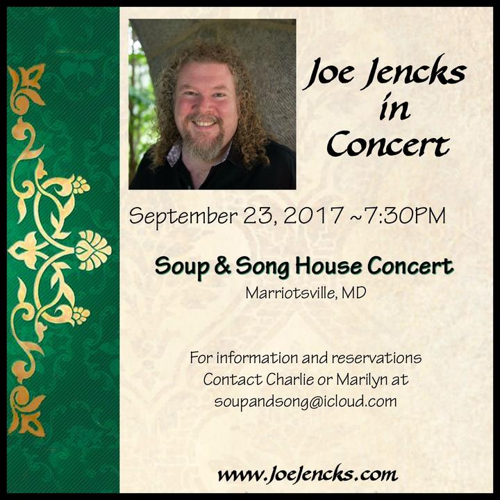 Joe Jencks @ Soup & Song House Concert - Marriottsville, MD