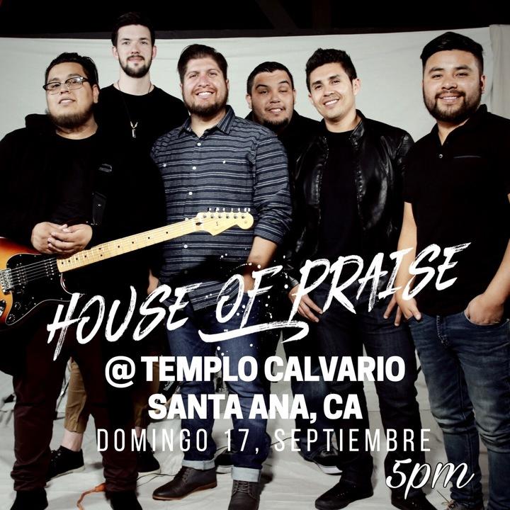 House Of Praise Band @ Templo Calvario - Santa Ana, CA
