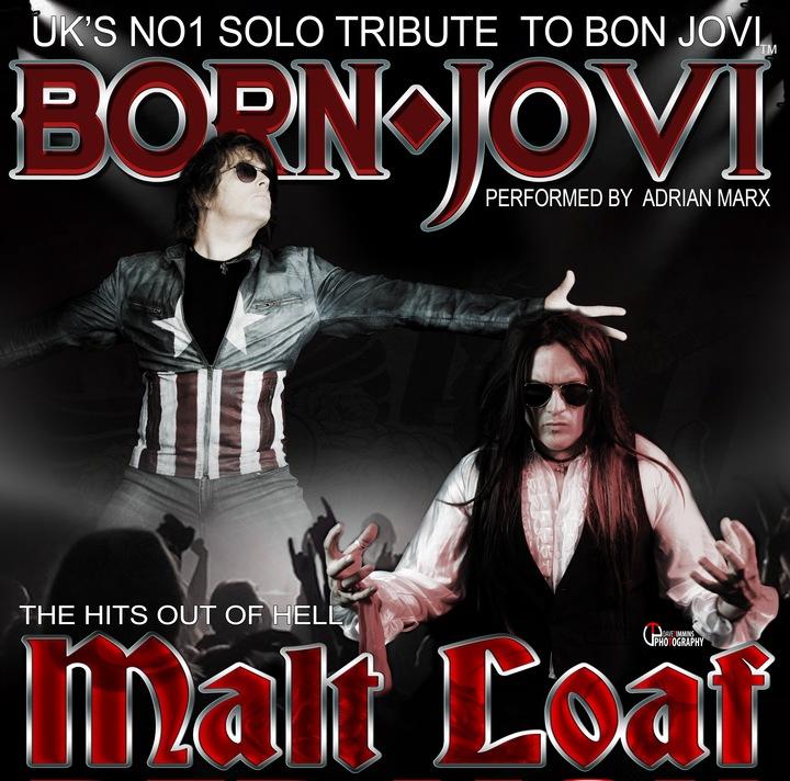 Born Jovi Tribute to Bon Jovi @ Stourport Marina Club House (SOLO Show with Malt Loaf A Tribute To Meat Loaf) - Stourport-On-Severn, United Kingdom
