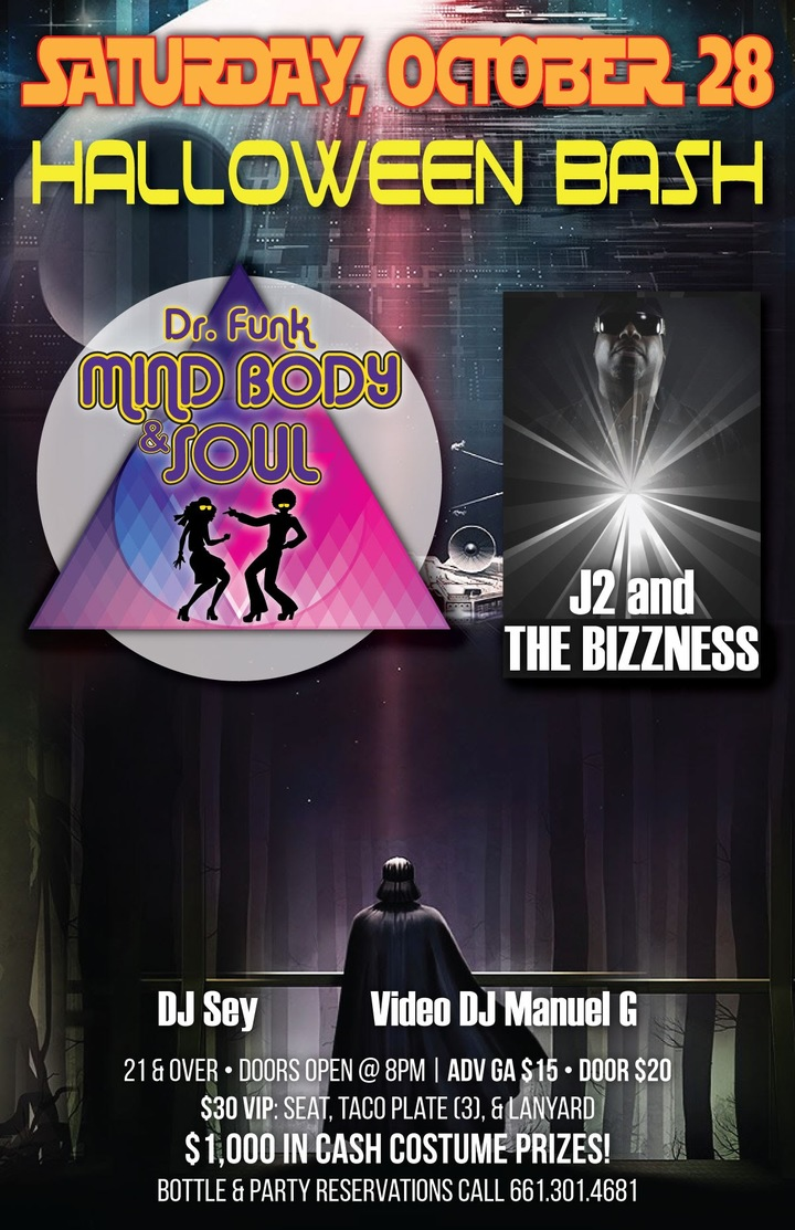 Mind Body & Soul Band @ Element Venue  - Bakersfield, CA