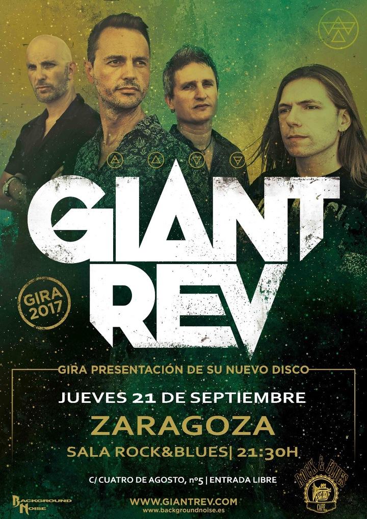 Giant Rev @ Sala Rock & Blues - Zaragoza, Spain