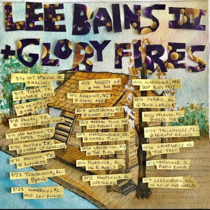 Lee Bains III & The Glory Fires @ On Pop of the World - Greensboro, NC