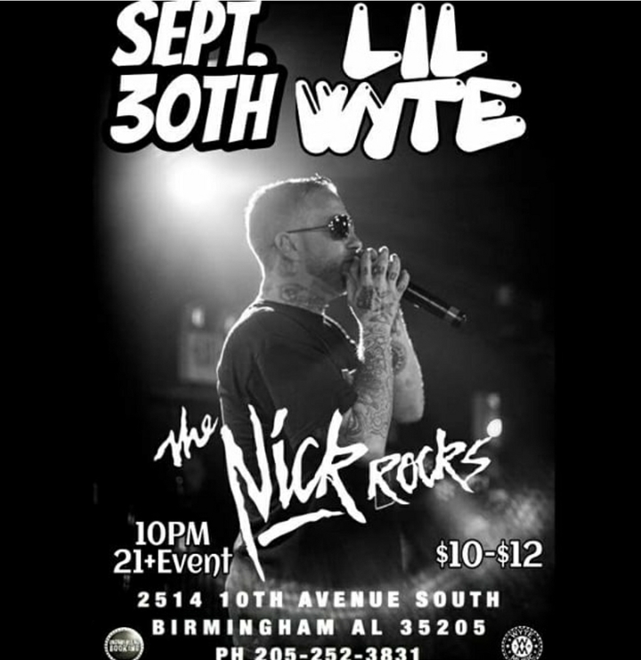 Underground Booking @ The Nick Rocks - Birmingham, AL