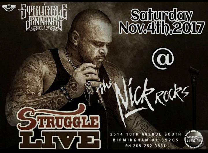 Underground Booking @ The Nick Rocks - Birmingham, AL
