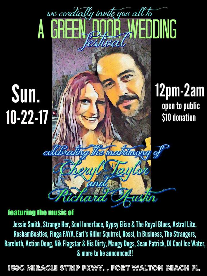 GypsyElise and the Royal Blues @ Green Door Music Hall  - Fort Walton Beach, FL