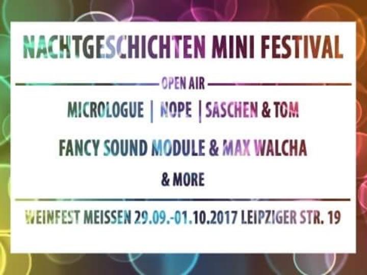 Micrologue @ Nachgeschichten Mini Festival - Meißen, Germany