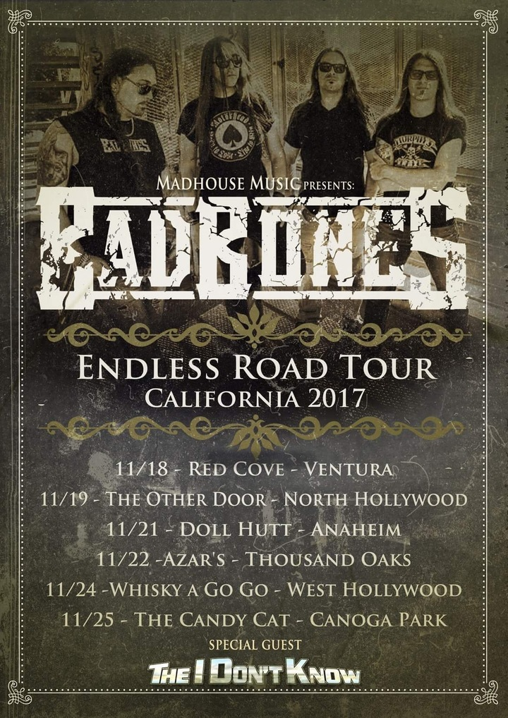 BAD BONES @ Doll Hutt - Anaheim, CA