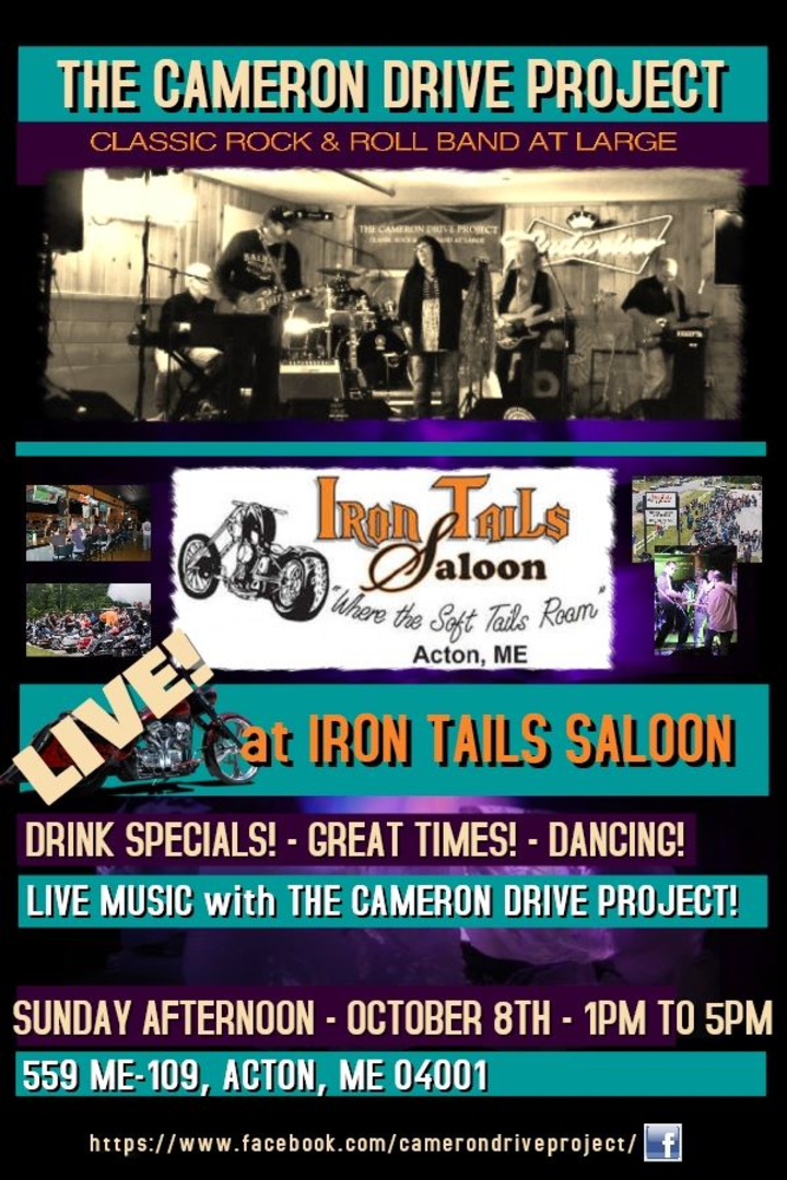 The Cameron Drive Project @ Iron Tails Saloon - Acton, ME