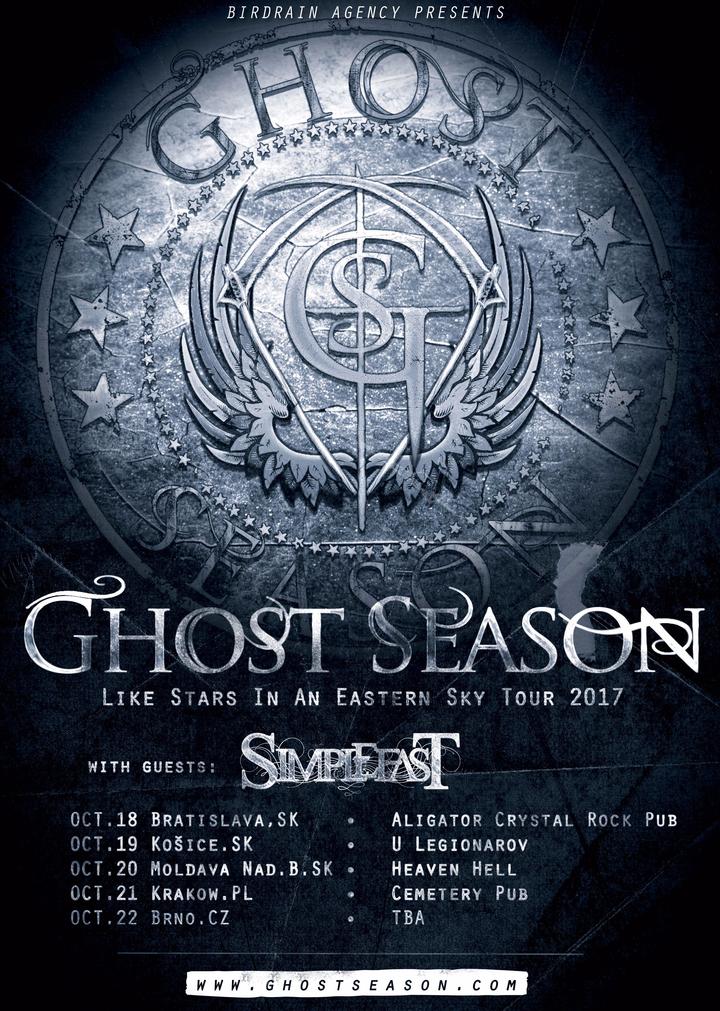 Ghost Season @ Heaven Hell - Moldava Nad Bodvou, Slovakia