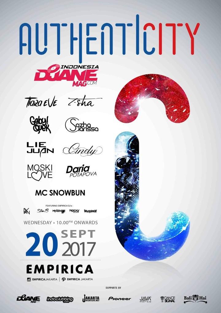 Show Productions DJ Agency @ Empirica Club - Jakarta, Indonesia