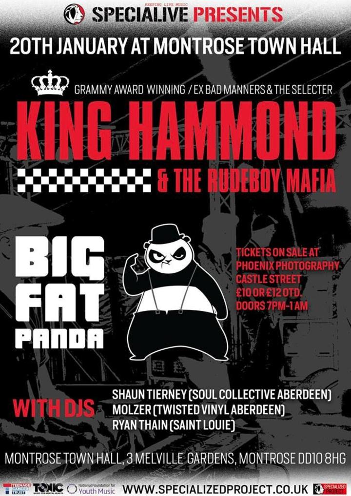 King Hammond @ Montrose Town Hall - Montrose, United Kingdom