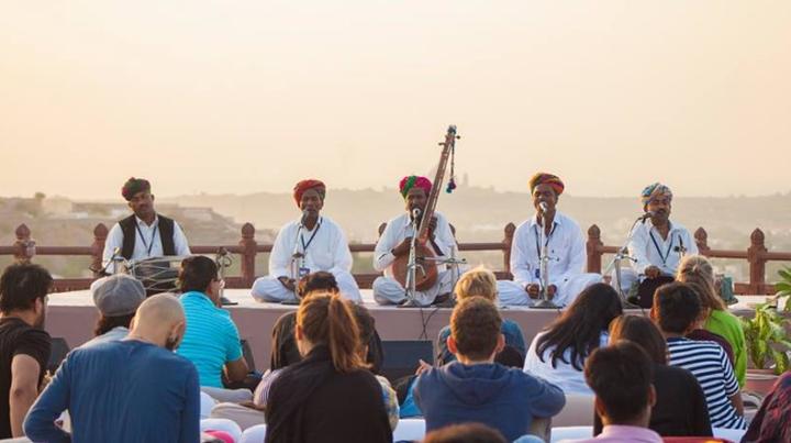 Shooglenifty Scotland @ Mehrangarh Fort - Jodhpur, India