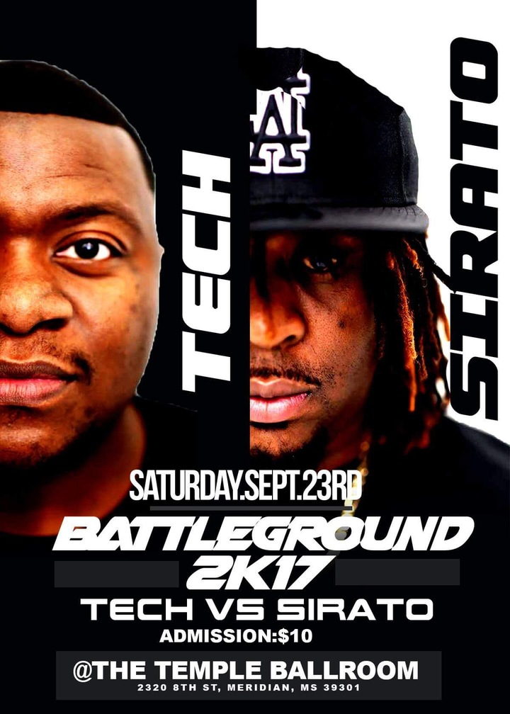 DJ Tech @ Temple Theater Ballroom - Meridian, MS