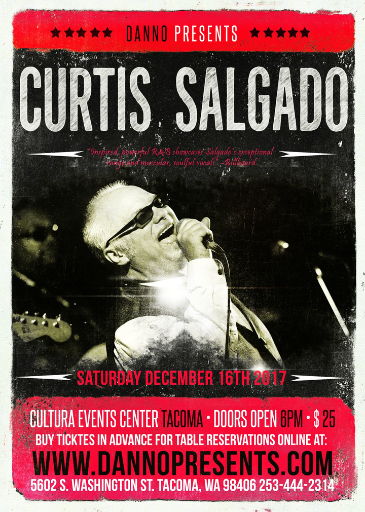 Curtis Salgado @ Cultura Event Center - Tacoma, WA