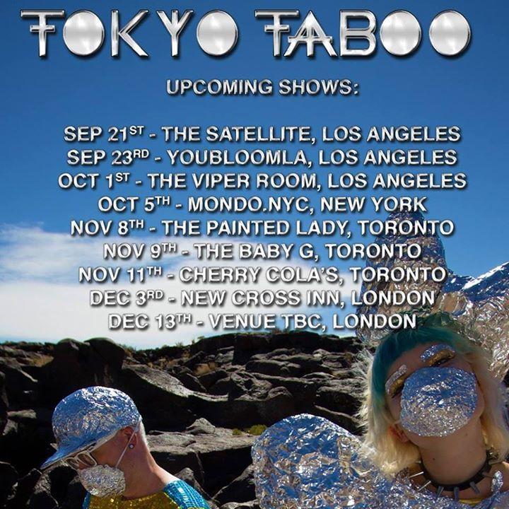 Tokyo Taboo @ The Baby G - Toronto, Canada