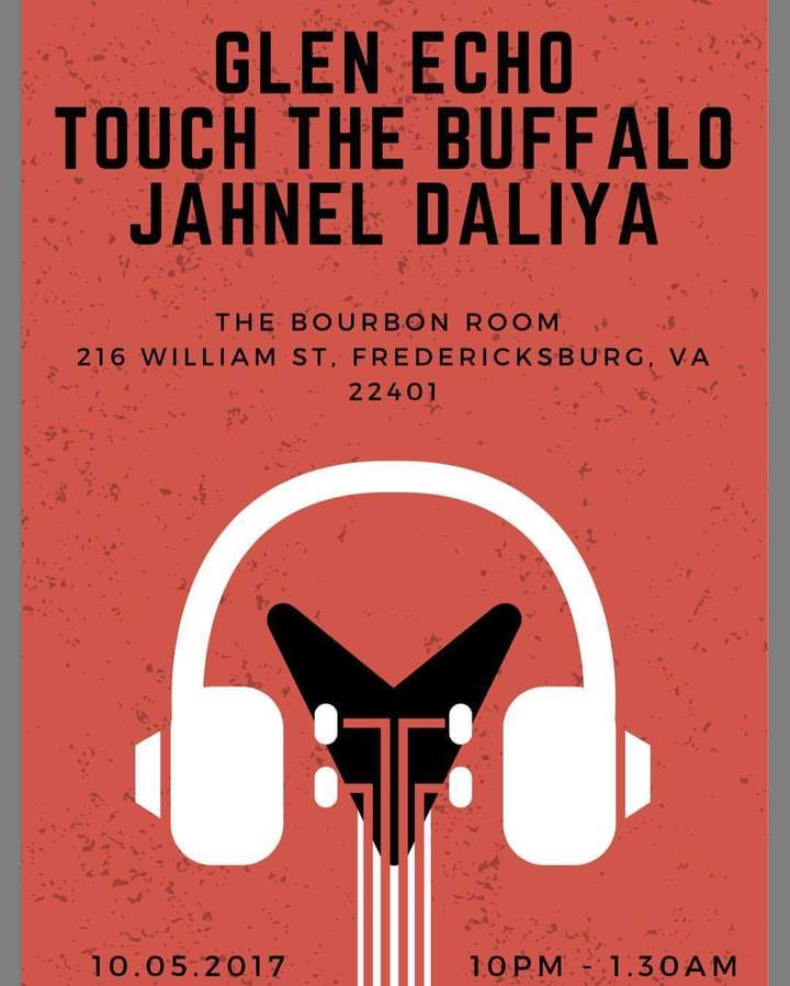 Jahnel Daliya @ The Bourbon Room  - Fredericksburg, VA