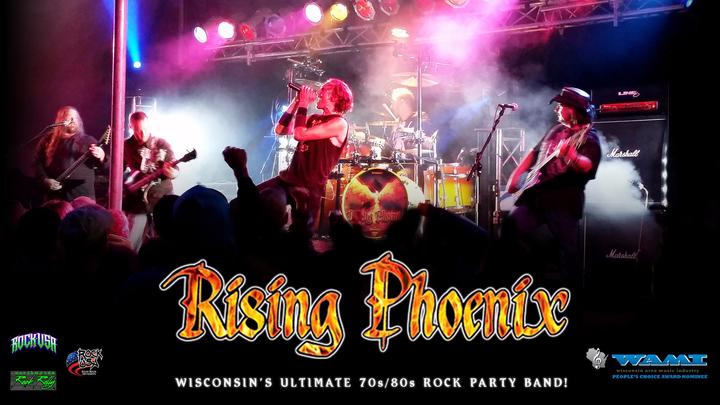 Rising Phoenix @ Mainstreet Marshfield downtown Block Party - Marshfield, WI