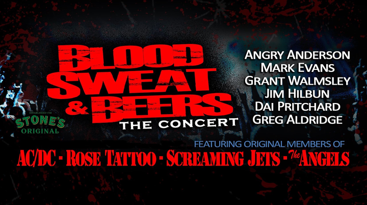 Blood Sweat & Beers - The Concert @ Market City Tavern - Canning Vale, Australia