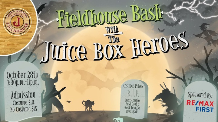 The Juice Box Heroes @ Save The Fieldhouse  - Jeffersonville, IN
