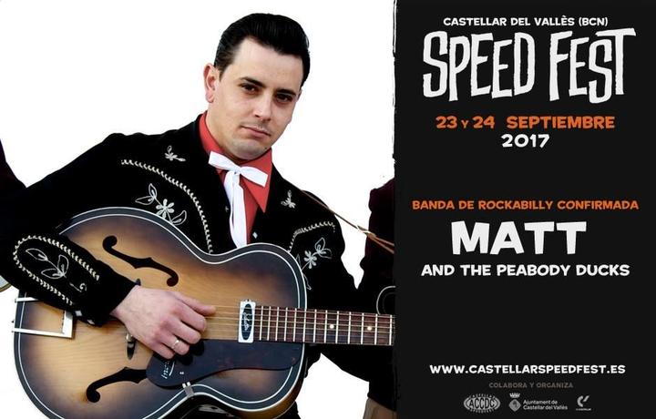 Kathrina Booking SHOWS @ Matt & The Peabody Ducks - Castellar Speed Fest 2017 - Castellar Del Vallès, Spain