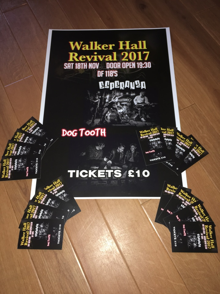 Dogtooth band @ The Walker Hall - Kilbirnie, United Kingdom
