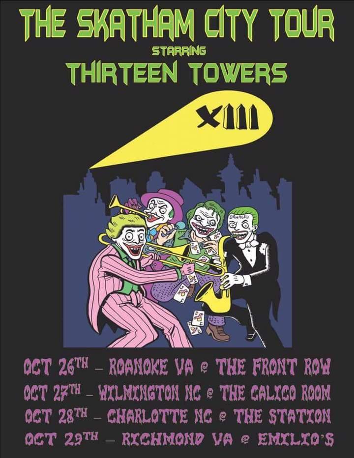 Thirteen Towers @ The Calico Room - Wilmington, NC
