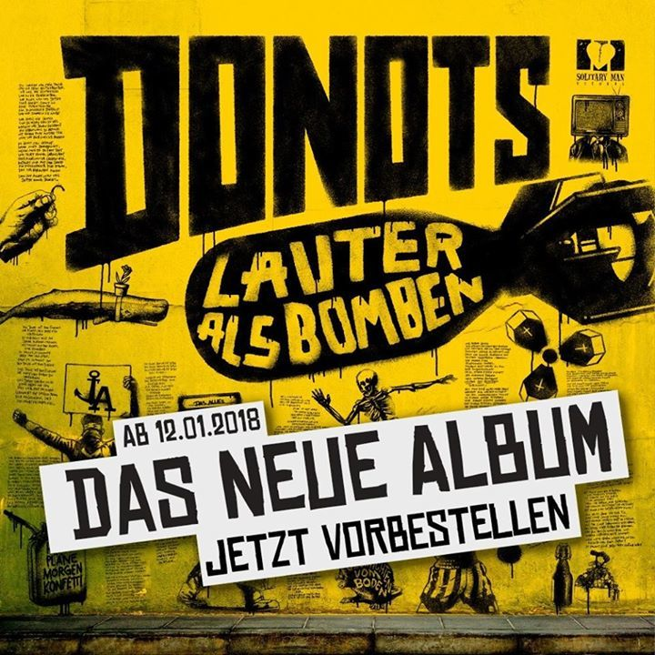 Donots @ Königsplatz - Munich, Germany