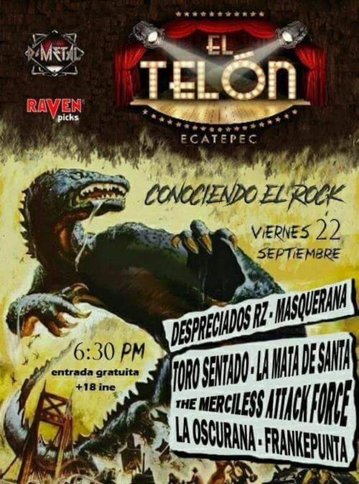 DESPRECIADOS RZ @ EL TELON MULTIFORO - Ecatepec De Morelos, Mexico