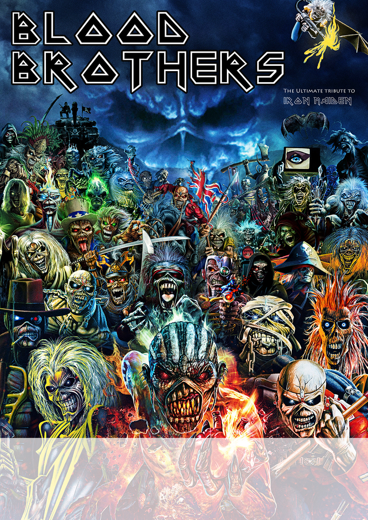 Blood Brothers -The Ultimate Iron Maiden Tribute @ Sanctuary  - Burnley, United Kingdom