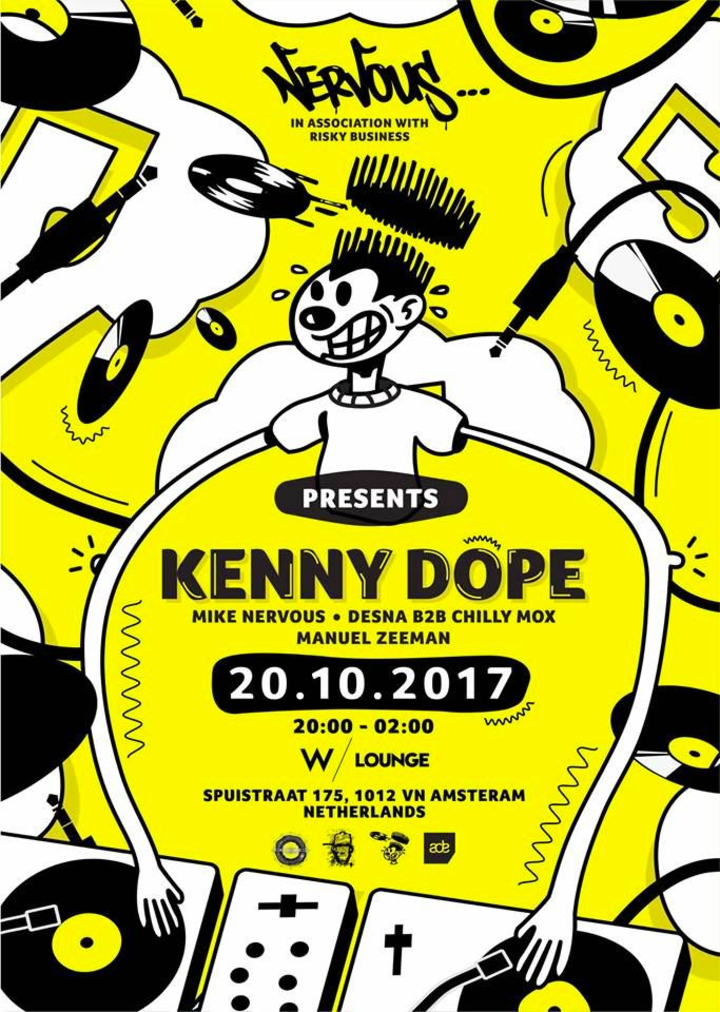 Kenny Dope @ Nervous Records ADE 2017 THE W HOTEL - Amsterdam, Netherlands