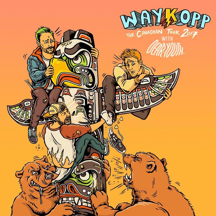Waykopp @ Piranha Bar - Montreal, Canada