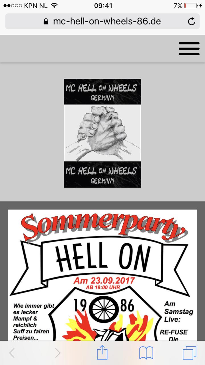 VINTAGE SOLID ROCK @ Hell On Wheele - Boslar, Germany