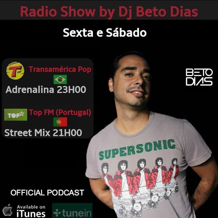DJ BETO DIAS Tour Dates