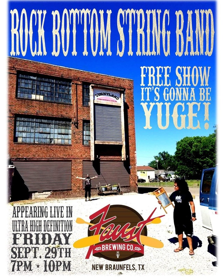 Rock Bottom String Band @ Faust Brewing Company - New Braunfels, TX
