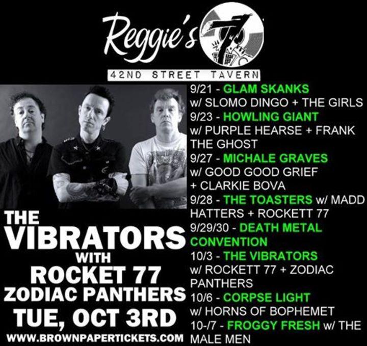 Reggies 42nd Street Tavern Tour Dates