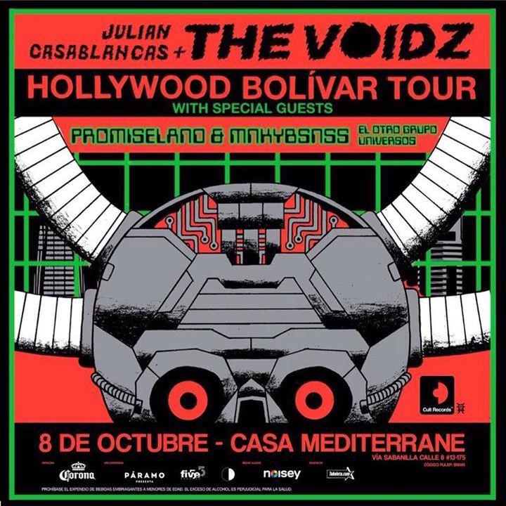 Universos Oficial Tour Dates