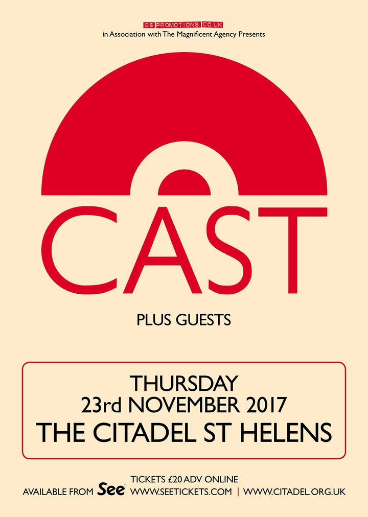 Cast @ The Citadel - St Helens, United Kingdom