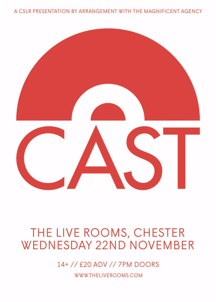 Cast @ THE LIVE ROOMS - Chester, United Kingdom