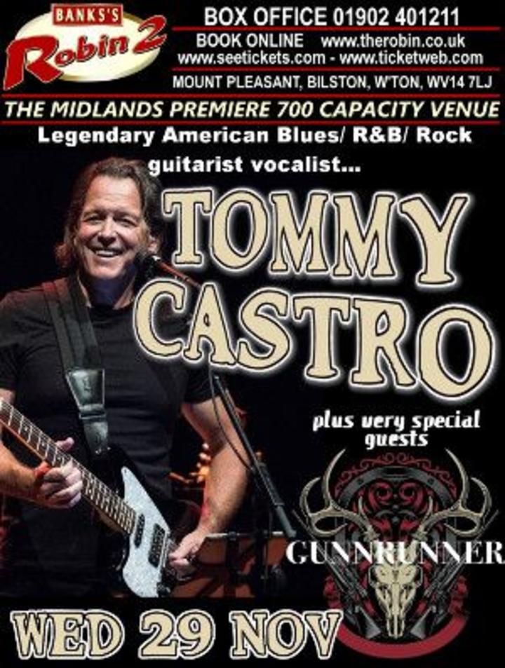 Tommy Castro @ Robin 2 - Bilston, United Kingdom